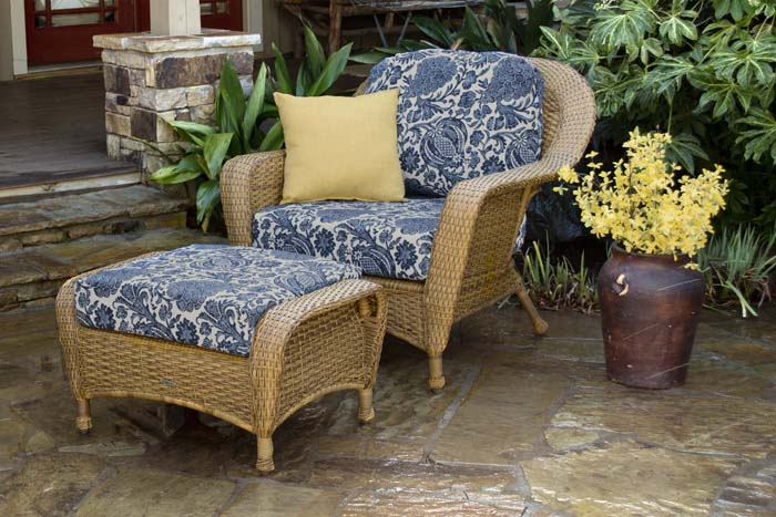 Lexington Club Chair & Ottoman Bundle