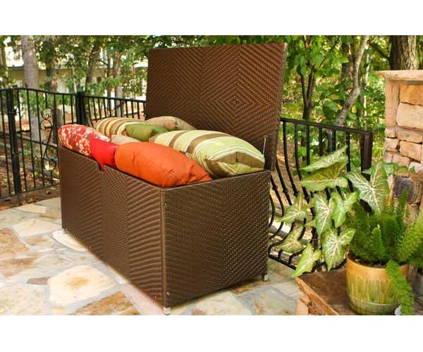 Lexington Wicker Storage Box Wicker Furniture