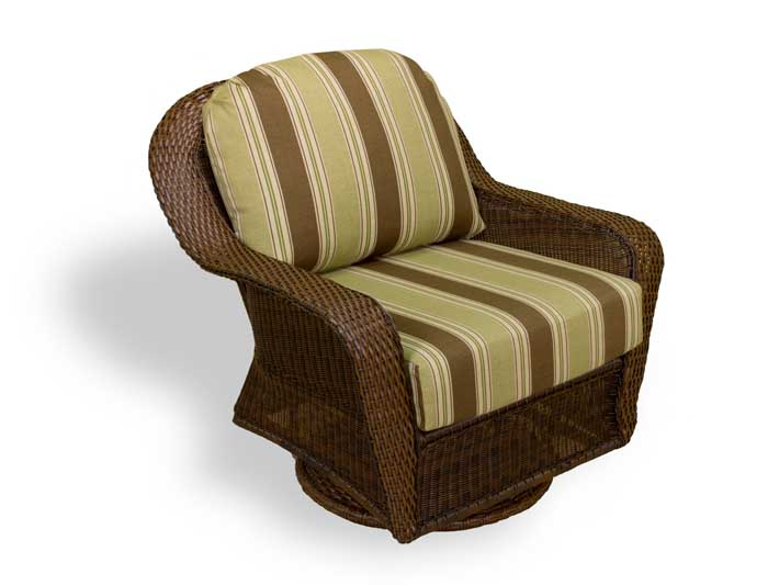 Gentil Lexington Swivel Glider Club Chair