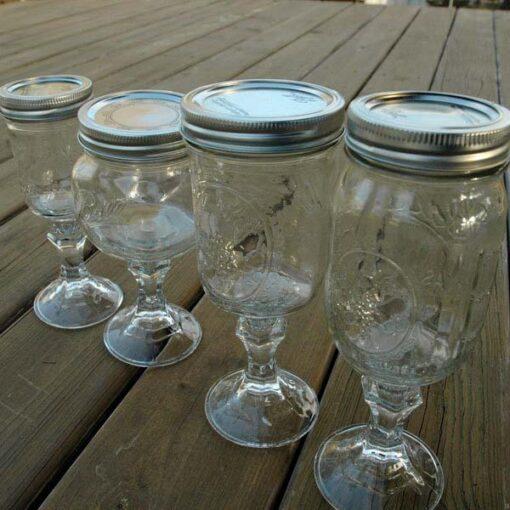 Mason Jar Glassware