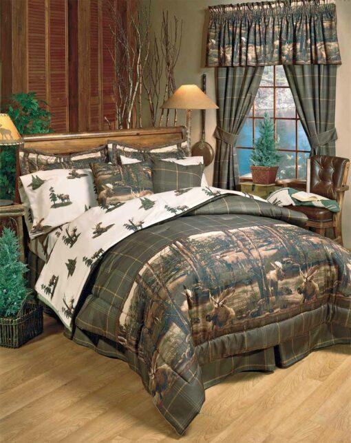 Moose Mountain Comforter Sets