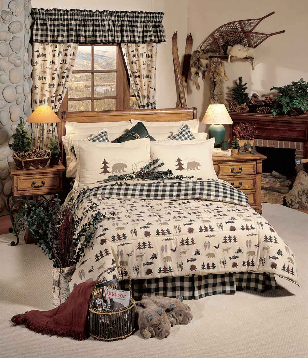 Northern Exposure Comforter Sets Cabin And Lodge Bedding Hunting Decor