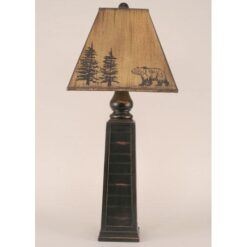 Pyramid Pot Bear Lamp