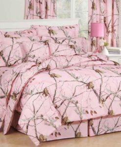 Realtree Pink Camo Comforter Sets