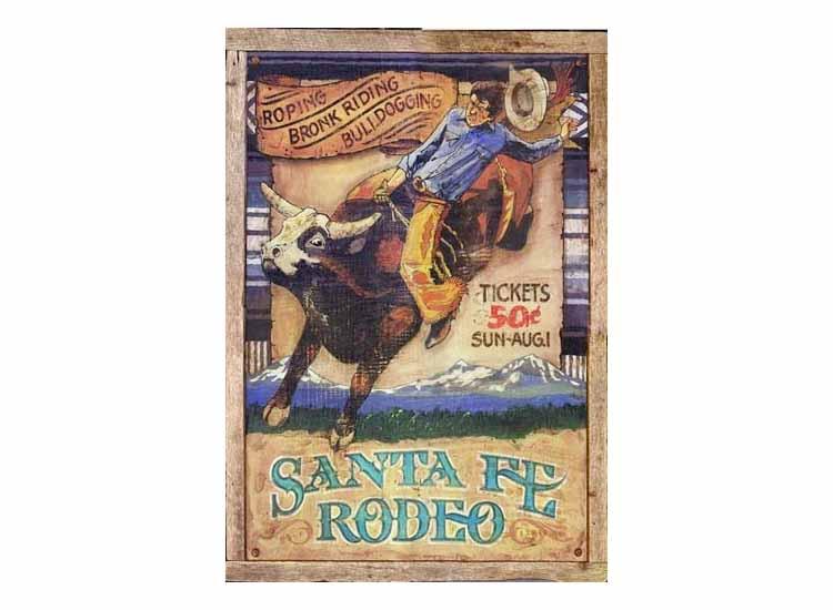 Rodeo Vintage Sign