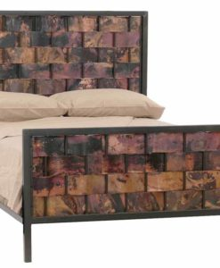 Rushton Iron Copper Bed