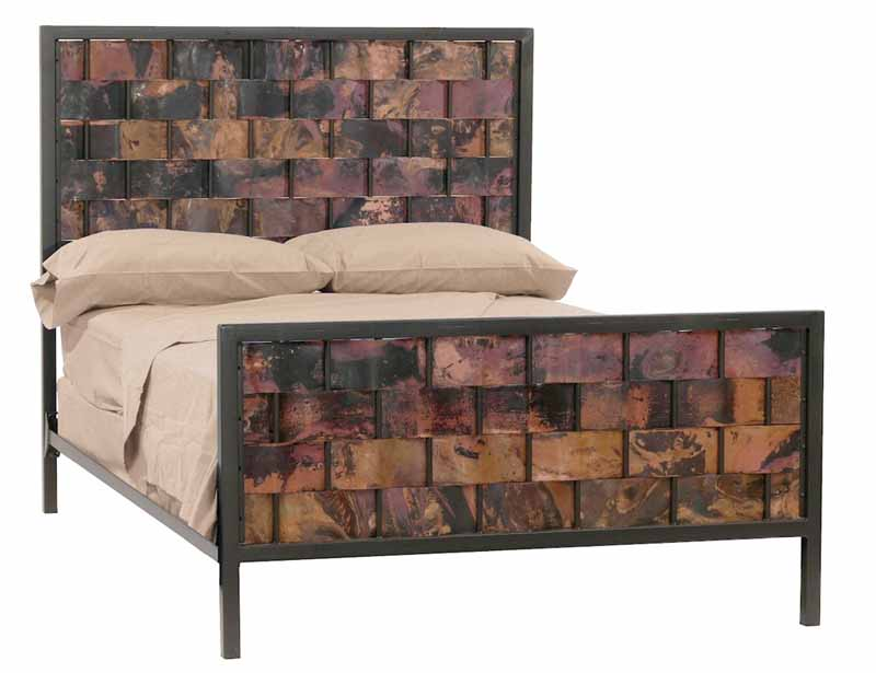 Rushton Iron Copper Bed