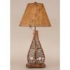 Snow Shoe Table Lamp