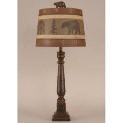 Square Buffet Bear Lamp