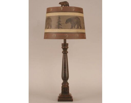 Square Buffet Bear Lamp