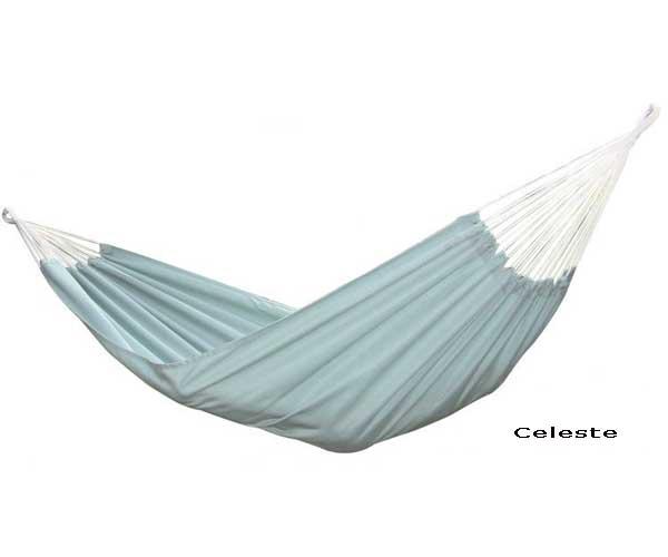 Brazilian Sunbrella Hammock - Double - Celeste