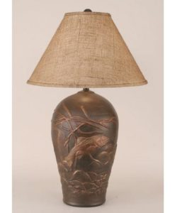 Trout Pot Table Lamp