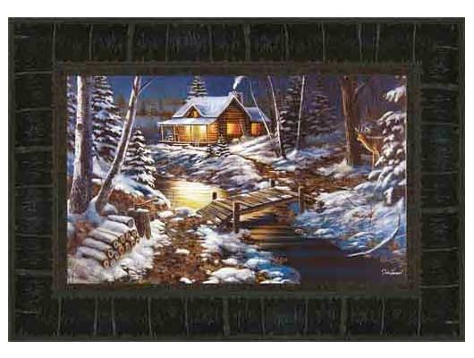 Woodland Retreat by Jim Hansel