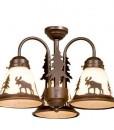 Yellowstone 3L Light Kit Burnished Bronze – Moose