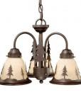 Yosemite 3L Light Kit Burnished Bronze – Pine Trees