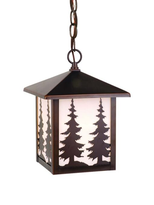 Yosemite 8 Outdoor Pendant Burnished Bronze Trees