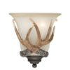 Yoho 1 Light Bathroom Sconce Black Walnut