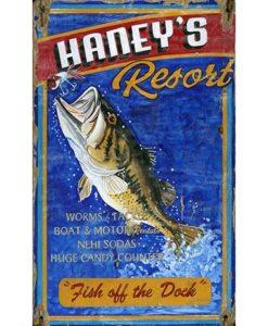 Custom Haney's Vintage Sign