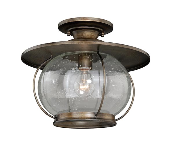 Jamestown 13 1 2 Quot Semi Flush Mount Cabin Lighting