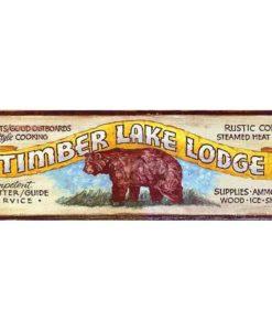 timberlake custom vintage sign